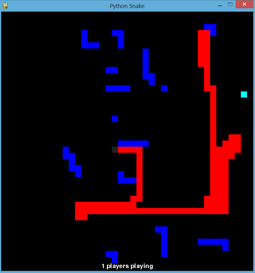 Snake game version 3.0 screenshot
